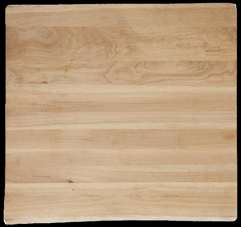 Eetkamertafel Stanley Ruw tafelblad vierkant