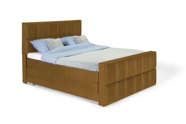 Charles Luxe Bed – 12 vaks hoofdbord - Monolith 48