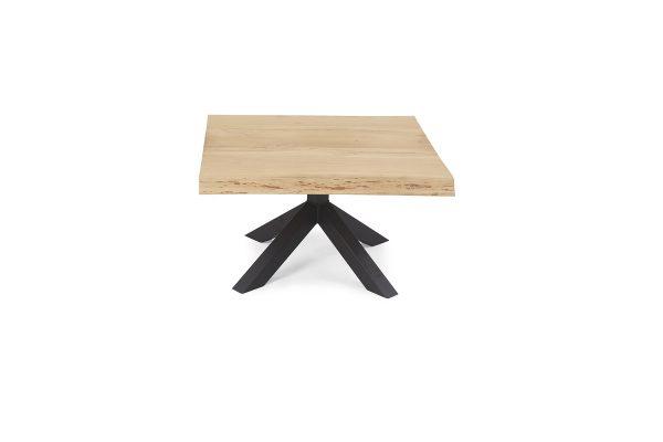 Salontafel Stanley Ruw vierkant - Matrix poot