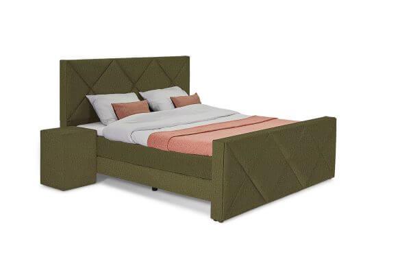 George Luxe Bed – Ruiten hoofdbord - Monolith 38
