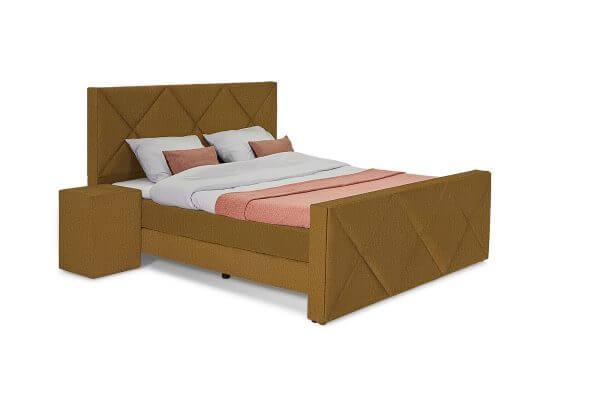 George Luxe Bed – Ruiten hoofdbord - Monolith 48