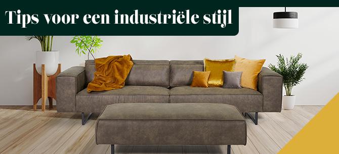 6 Handige tips voor een industriële stijl in uw interieur